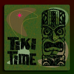tiki-time-coaster