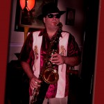 That's me, playing Tenor Sax