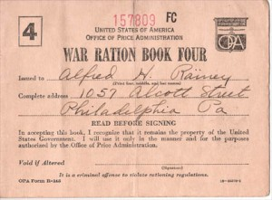 war-ration-book