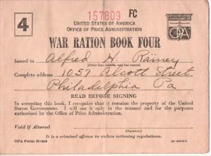 war-ration-book