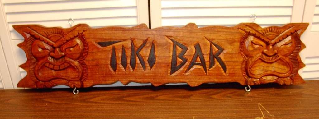 Tiki Bar Sign 2
