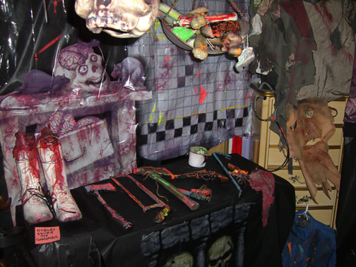 Been Setting Up For My Big Annual Halloween Bash… |