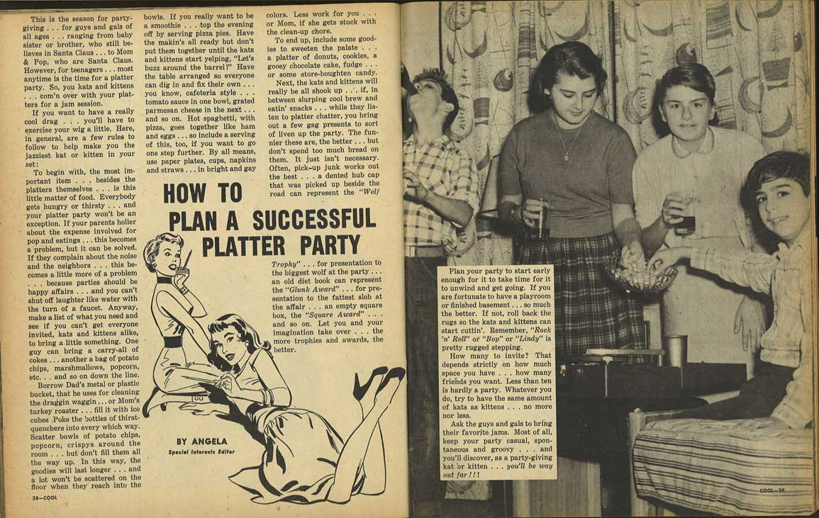 Cool Magazine...How to have a Platter Party