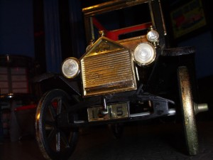 Bar Car Model T Ford Coupe detail.