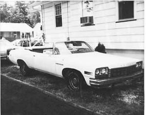 My 75 Buick LeSabre Convertible