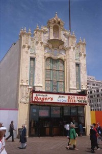 The Warner Theater facade as I remember it in the 1990's