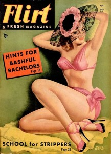 original 50's girlie mag, like the ones my old man had