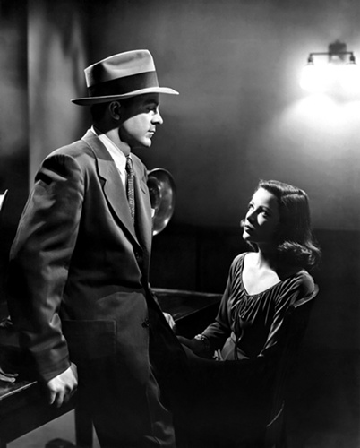 Dana Andrews and Gene Tierney