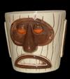 Modern Primitive Tiki Mug by Artist Philippe Tilikete