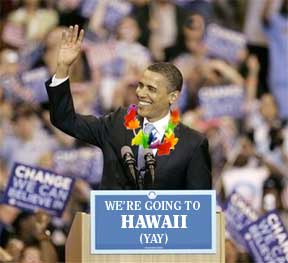 President Obama gains support for moving the Nation's Capitol to a  Hawaiin Beach Resort