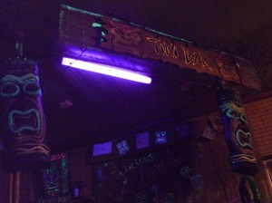 At my Tiki Bar
