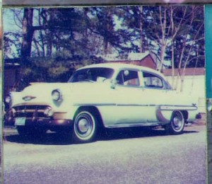 My 1953 Chevy Belair StarDust in 1992