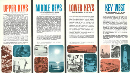 Florida Keys Brochure