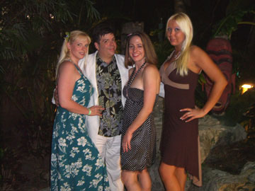 That's me, Tiki Chris with three of my best girls - Colleen, Shannon & Molly