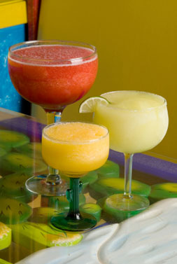 how to make a homemade fruit slush