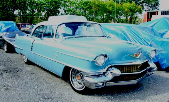 Original 1956 Cadillac Series 62 Hardtop Sedan