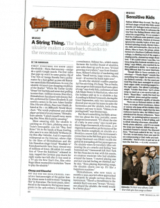 Time Magazine article, A String Thing