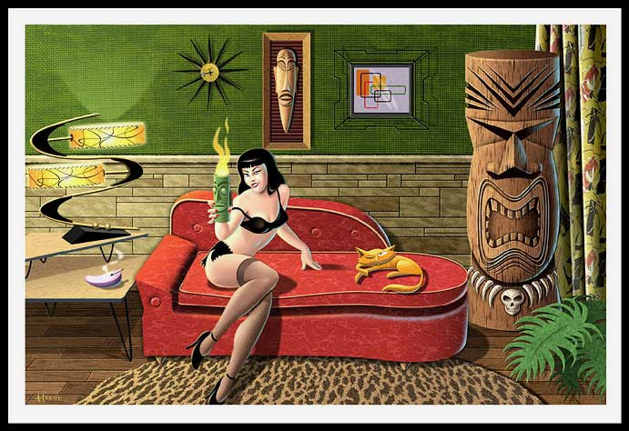 Doug Horne's Tiki Girl
