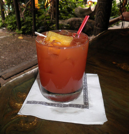 Jet Pilot at The Mai-Kai