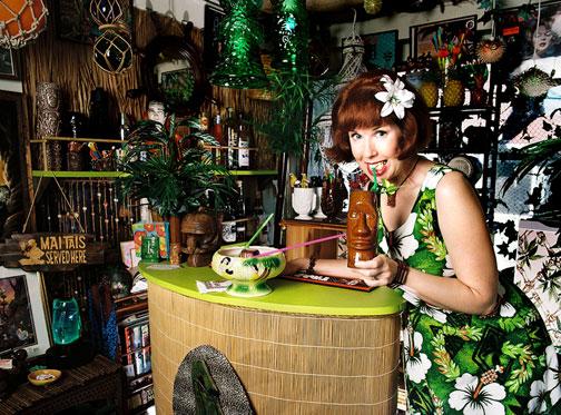 Kelly Camille Patterson of The Velveteen Lounge Kitsch-en