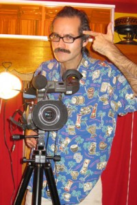 Paul Spencer of The Velveteen Lounge Kitsch-en