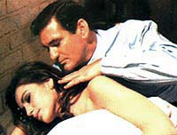 Rod Taylor and Cathrine Spaak in Hotel, 1967