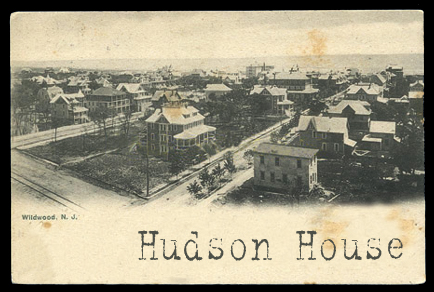 Hudson House, one of the two haunted houses in Murder Behind the Closet Door
