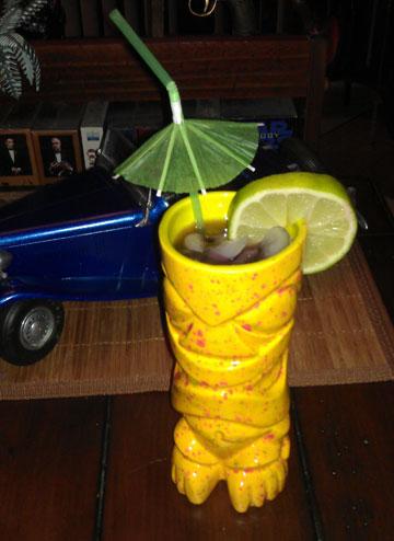 The Rum Noir, a Tiki Lounge Talk original
