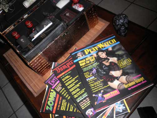 Playwitch...my favortie magazine (Yes, I made that myself)
