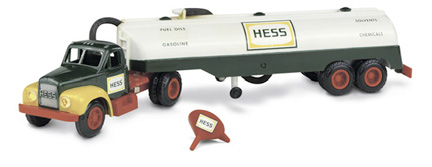 The first Hess truck, 1963