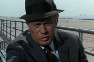 Richard Widmark as Madigan, a real tough cop