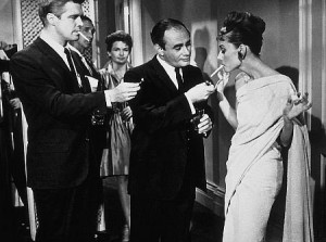 Party scene in Breakfast at Tiffany's, full of Blake Edwards-style gags.