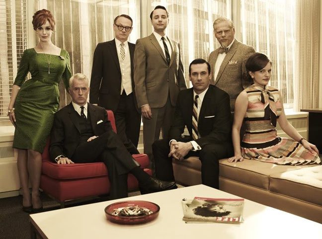 MAD MEN Season Five Promo Poster