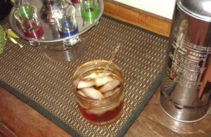 Having vintage/retro glasses & decor can really add to the ambiance.
