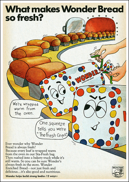 Vintage Wonder Bread Ad