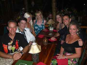 My friends and me at The Hukilau 2011