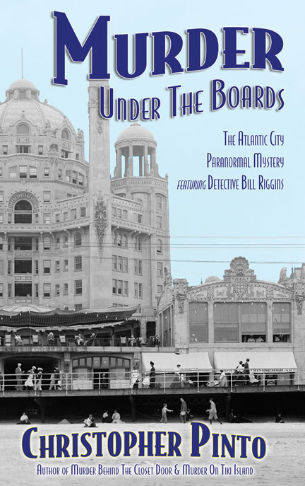 Murder Under The Boards by Christopher Pinto now available