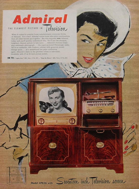 1950's Admiral Hi-Fi. I owned this exact model from aroun 1985 to 2000. Miss it.