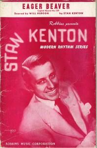 sheet music eager beaver stan kenton