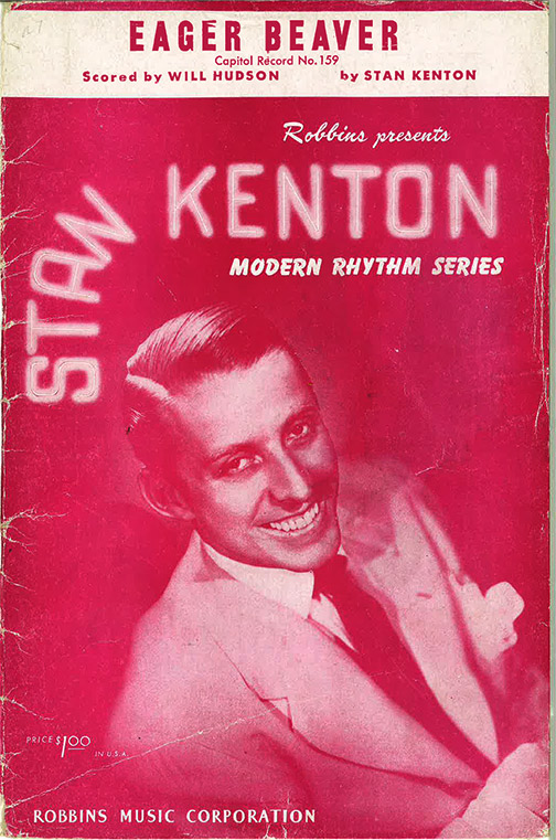 sheet music eager beaver stan kenton