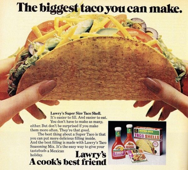 biggest taco AD