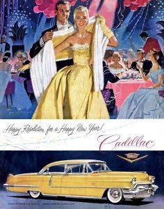 1955 cadillac advertisement