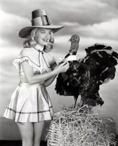Thanksgiving pinup