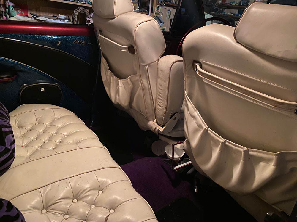 53 Chevy custom cadillac seats